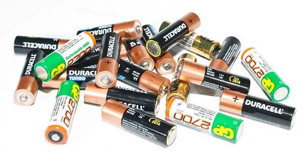 Внешний вид батареек