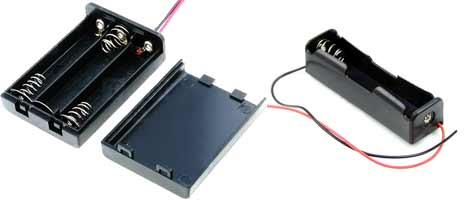 Внешний вид батарейных отсеков
